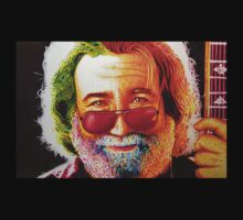 Grateful Dead Jerry Garcia by JMCSharpieArt