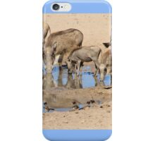 Warthog Family - African Wildlife iPhone Case/Skin