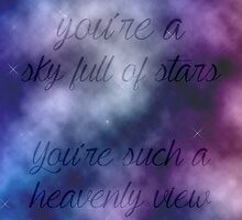 Coldplay - A Sky Full Of Stars by Scienceandfaith