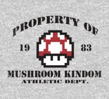 Property of Mushroom Kingdom red by ExplodingZombie