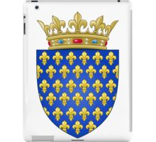 Coat of Arms of the Kingdom of France (-1305; 1328–1376) iPad Case/Skin