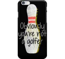 The Big Lebowski DUDE bowling art iPhone Case/Skin