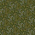 Death Hares Pattern by David Wyatt