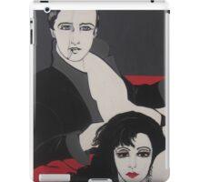 LETS RELAX  ART DECO iPad Case/Skin