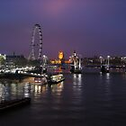 A Night in London by Ludwig Wagner