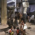 Dhaka Children by Werner Padarin