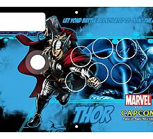 Thor Fight Stick Temaplte by Gabriel Gutierrez