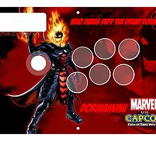 Dormammu Fight Stick by Gabriel Gutierrez