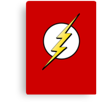 The Flash Logo Canvas Print