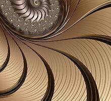 Bronze Spiral by John Edwards