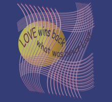 *Love Wins Back* by TeaseTees