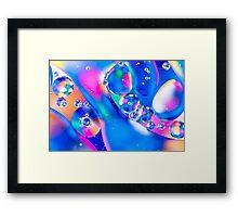 Oil & Water 5 Framed Print