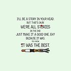 We're all just Stories by NatalieMirosch