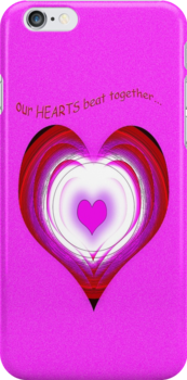 Our Hearts Beat Together by TeaseTees
