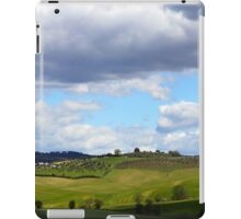 All About Italy. Tuscany Landscape 1 iPad Case/Skin