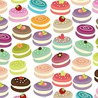 Cute French Macarons by GirlyGirl