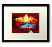 CIRCLE OF HOPE Framed Print