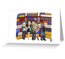 The ScoobyGang Greeting Card