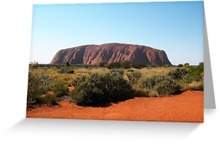 Uluru, Northern Territory by Michael John
