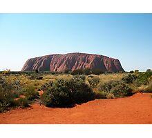 Uluru, Northern Territory Photographic Print