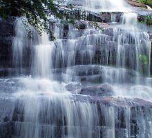 Waterfall Silk at Katoomba Cascades by Michael John