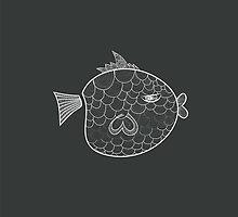 BOBO the FISH by cocoeatspeople