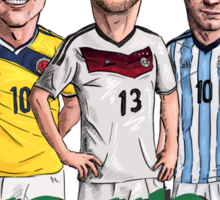 World Cup footballers Sticker