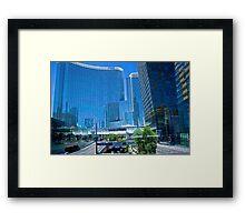 Aria Hotel & Casino, Las Vegas, Nevada Framed Print