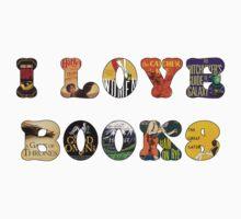 I Love Books Kids Clothes