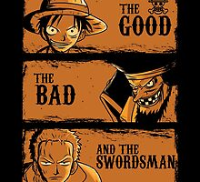 The Good The Bad and the swordsman  by piercek26