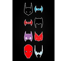 Bat Family Photographic Print