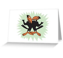 Heckle and Jeckle Greeting Card