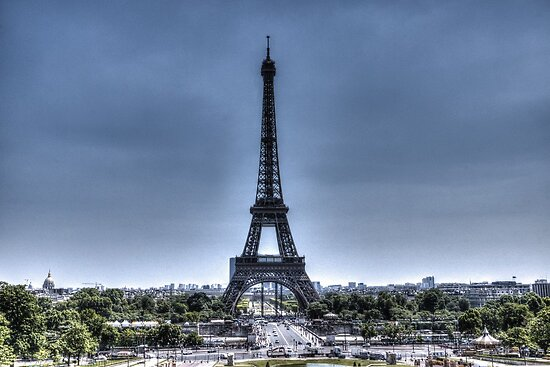 Eiffel Tower 6 by John Velocci