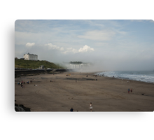 Scarborough Sea Fret 2 Canvas Print