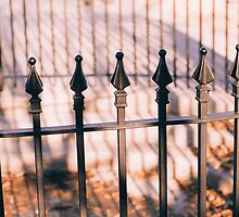 Rod Iron Fence by Vintagee