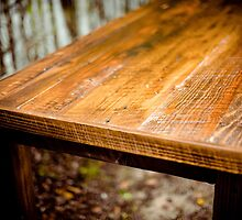 Wooden Table by Vintagee