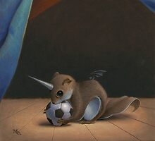 Uni Squirrel by Mark Elliott