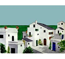 VILLAGE IN GREECE Photographic Print