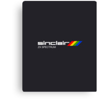 Sinclair Spectrum ZX Canvas Print