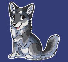 Little Wolf - Grey by etuix