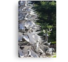 Moose Horn Tree Canvas Print