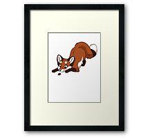 Little Red Fox Framed Print