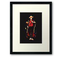 Pirate King Framed Print