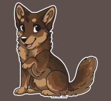 Little Wolf - Brown by etuix