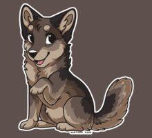 Little Wolf - Grey Brown by etuix