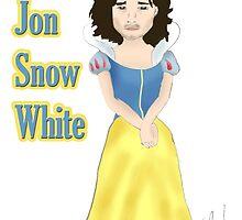jon snow white by adigo