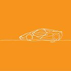 Mclaren F1 - Single Line by douglaswood