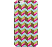 Chevron  pattern piece of cake iPhone Case/Skin