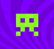 Space Invader Retro Wacky by ahmadsarvmeily