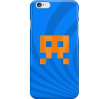 Space Invader Retro Ocean Waves iPhone Case/Skin